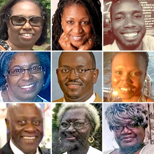 These people lost their lives in a shooting at Emanuel A.M.E. Church in Charleston, S.C.